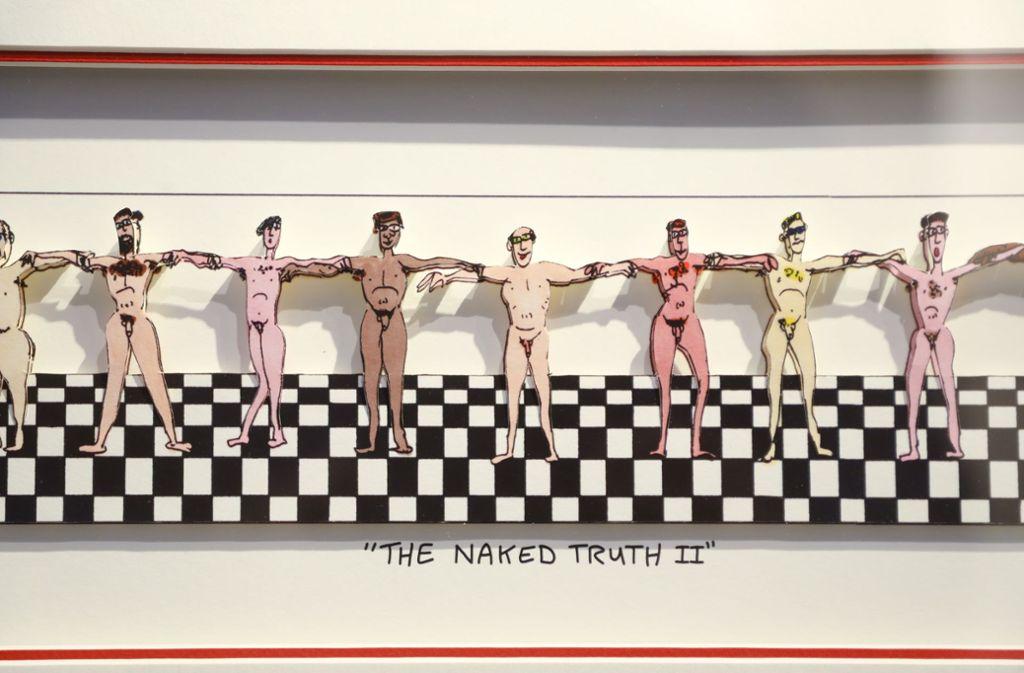 Die nackte Wahrheit: So lautet der Titel dieses Kunstwerkes. Foto: factum/Simon Granville