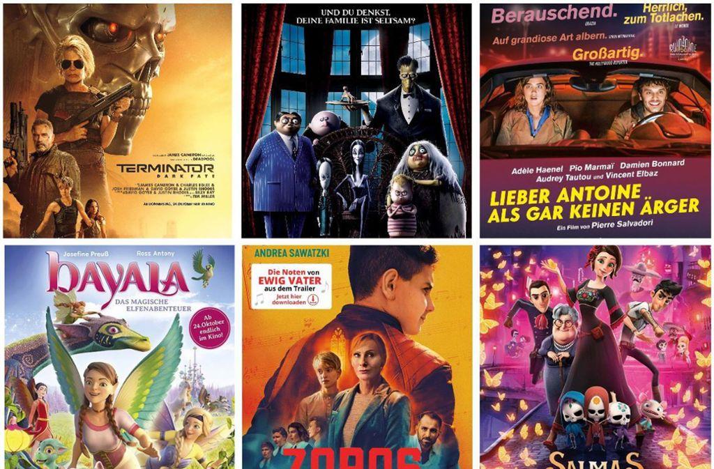 Einige Filmplakate dieser Woche Foto: Verleiher