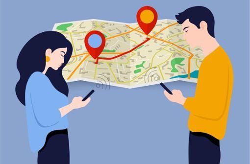 Warum sich Paare per App orten