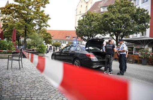Oberbürgermeister stellt Angreifer nach Messerattacke