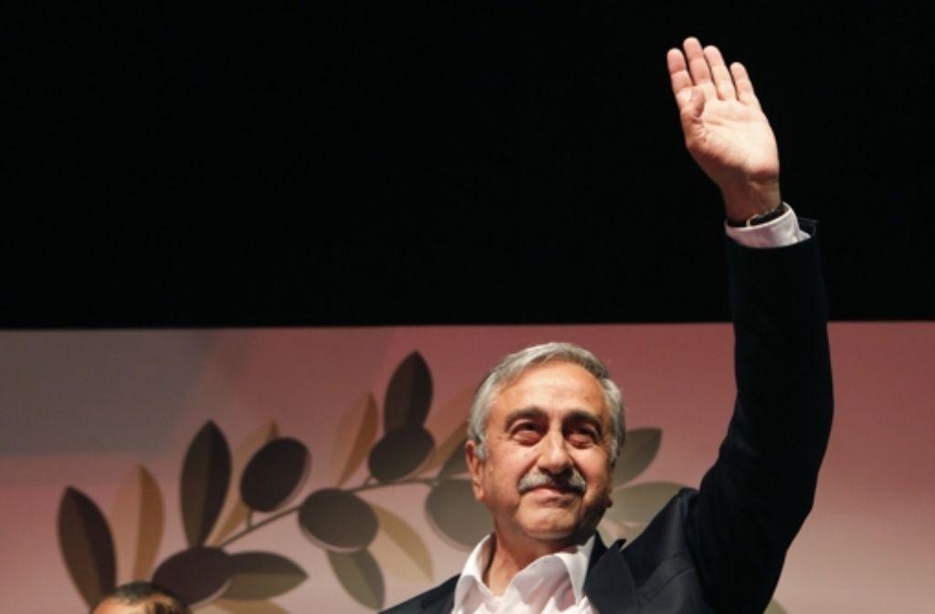Mustafa Akinci, der neue Volksgruppenführer der Türken, gibt sich moderat. Foto: AP