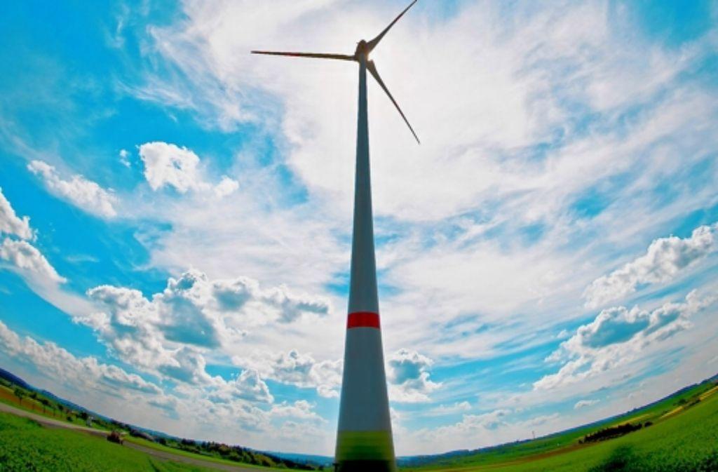 Das umstrittene Windrad in Ingersheim wird wohl viele Geschwister bekommen. Foto: dpa