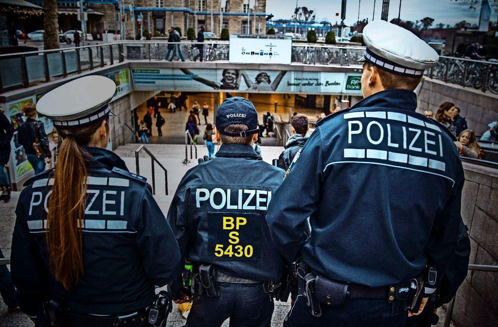 Seit einem Jahr sind Landes- und Bundespolizei verstärkt auf Streife.Foto:Lichtgut/Piechowski Foto:
