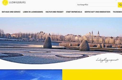 Ludwigsburg mit neuem Internetauftritt