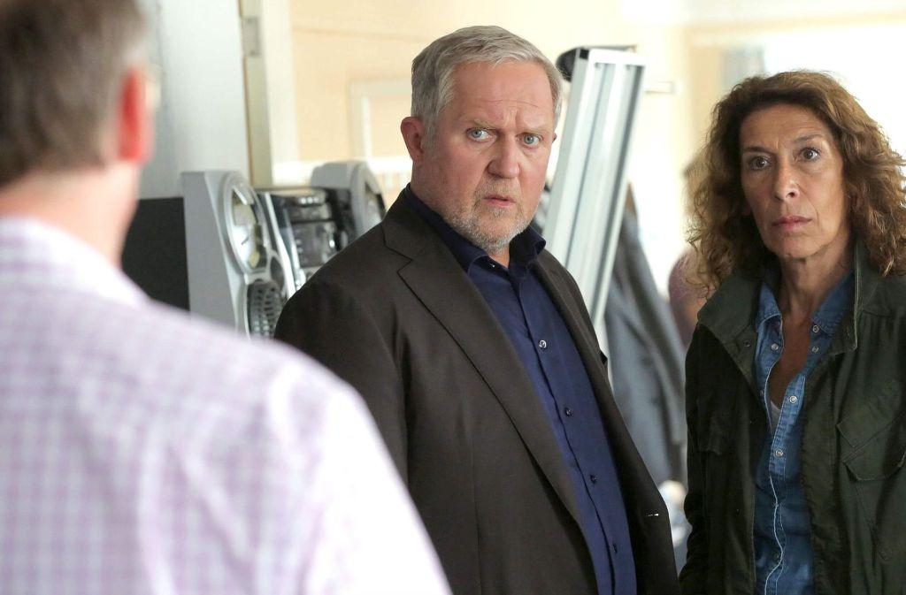 Moritz Eisner (Harald Krassnitzer) und Bibi Fellner (Adele Neuhauser) ermitteln im Notfall-Gebiet.  Foto: ARD