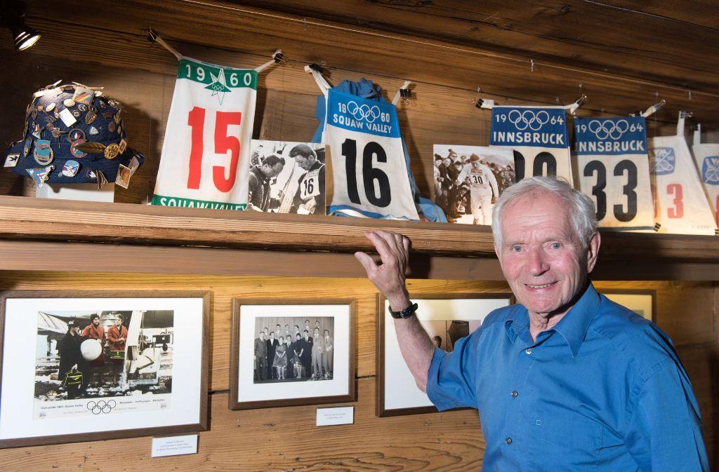 Vom Briefträger zum Goldmedaillen-Gewinner: Georg Thoma feiert am Samstag seinen 80. Geburtstag. Foto: dpa