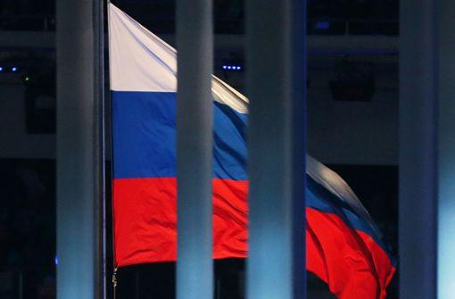 Russland für vier Jahre gesperrt