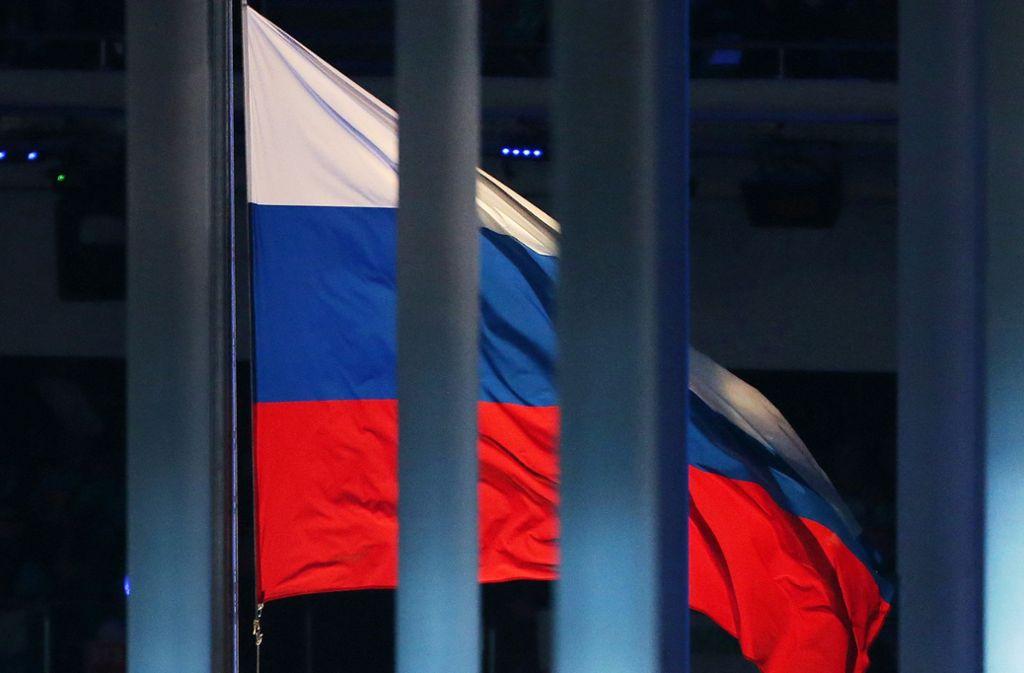 Für vier Jahre wird Russland von allen sportlichen Großereignissen ausgeschlossen. Foto: dpa/Jan Woitas