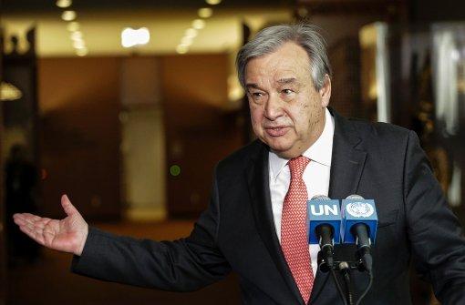 Sicherheitsrat stimmt für Guterres