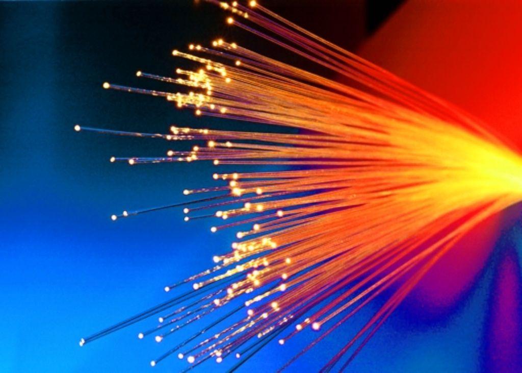 Das Kabel transportiert Daten fürs Internet und die Bundeswehr. Foto: Archiv