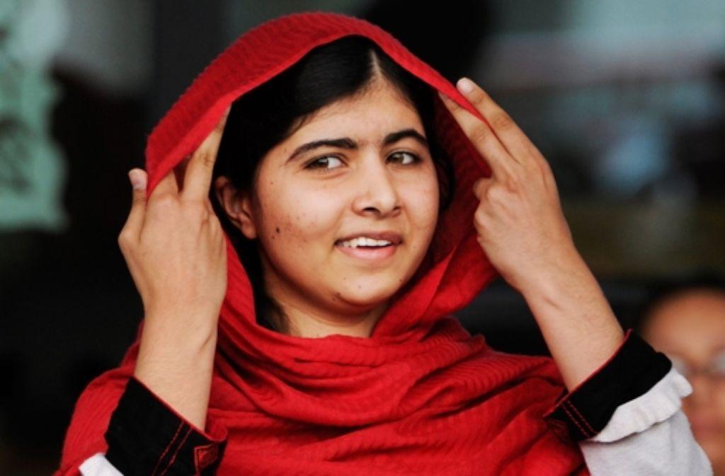 Der Friedensnobelpreis 2014 geht an die pakistanische Menschenrechtsaktivistin Malala Yousafzay und den indischen Kinderrechtsaktivisten Kailash Satyarthi. Foto: EPA