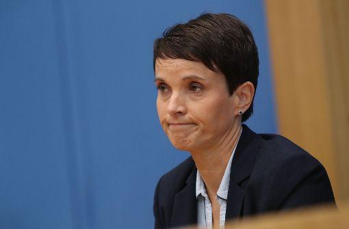 Partei will Petry wegen Datenklaus verklagen