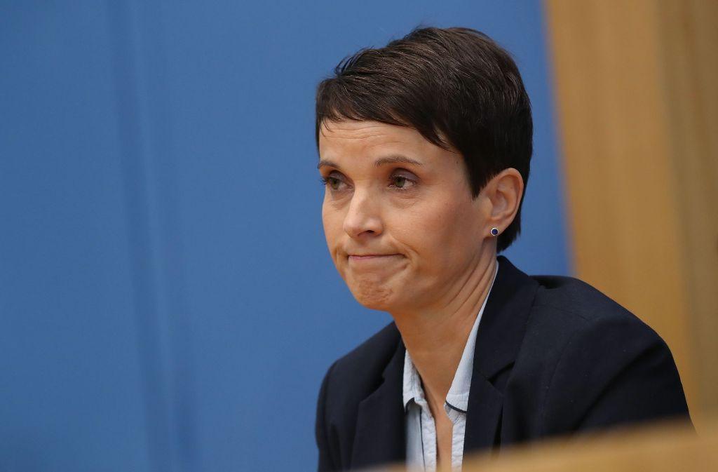 AfD will Ex-Vorsitzende Petry wegen Datenklaus verklagen