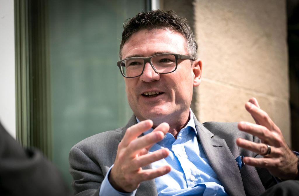 Der Bundestagsabgeordnete Stefan Kaufmann bei einem Gespräch mit unserer Zeitung. (Archivbild) Foto: Lichtgut/Achim Zweygarth