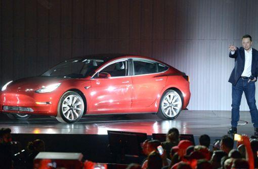 """Neue Probleme bei Produktion von """"Model 3"""""""