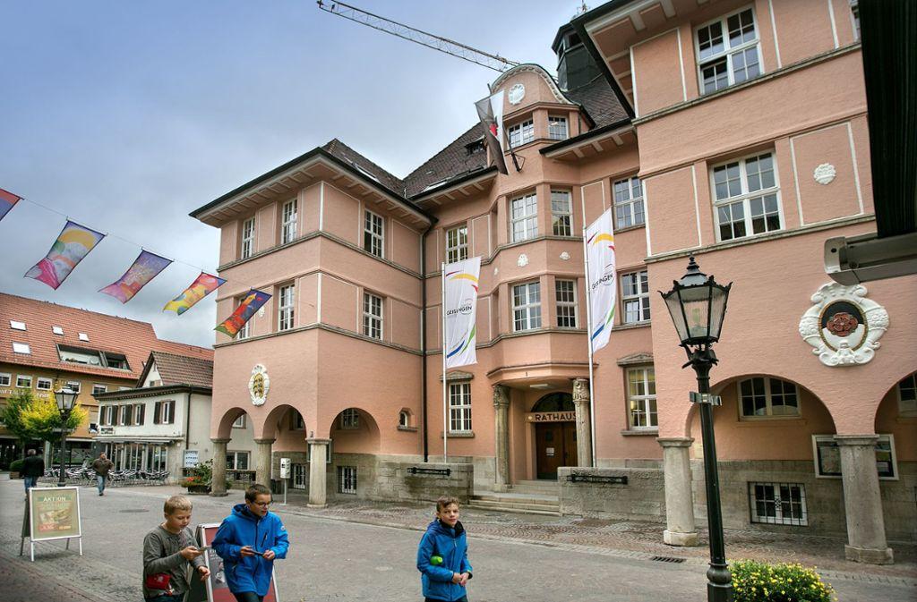 Im Geislinger Rathaus könnte sich die Zusammensetzung des Gemeinderats nach der Wahl ändern. Foto: Archiv/Pressefoto Horst Rudel