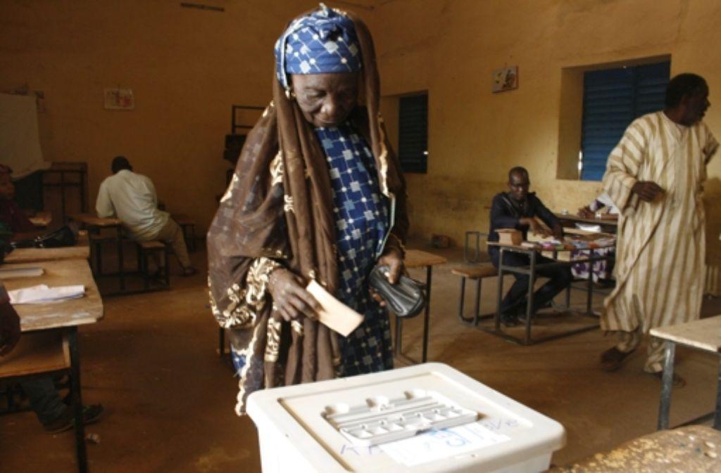 In Niger haben die Menschen einen neuen Präsidenten gewählt. Foto: AP