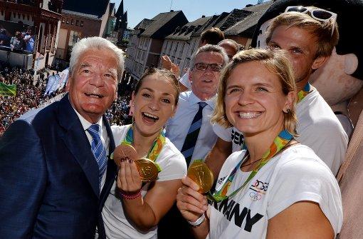 Gauck lobt deutsche Olympia-Mannschaft