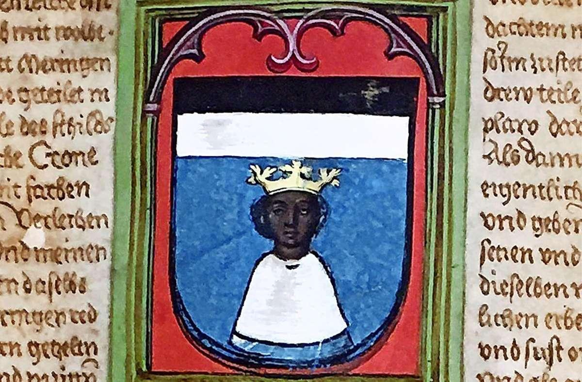 Das Wappen im anderen Möhringen bei Tuttlingen Foto: Stadt Tuttlingen