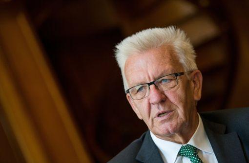 "Winfried Kretschmann sieht ""schwerste Verwerfungen"" in Berlin"