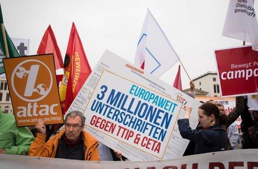 3,3 Millionen Unterschriften gegen TTIP
