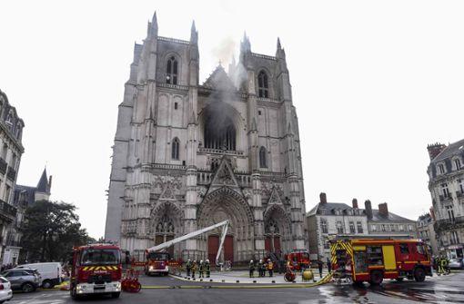 Orgel bei Großbrand in der Kathedrale von Nantes zerstört