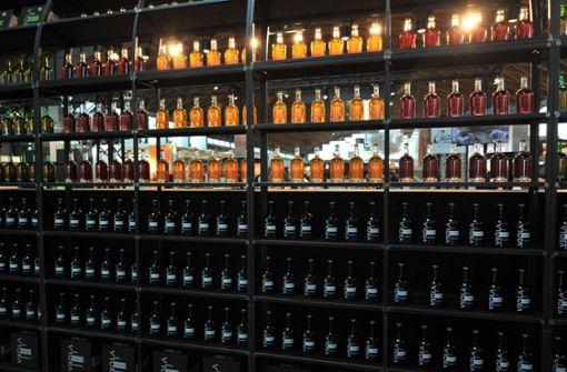 Hochwertige Spirituosen aus Gaststätte gestohlen
