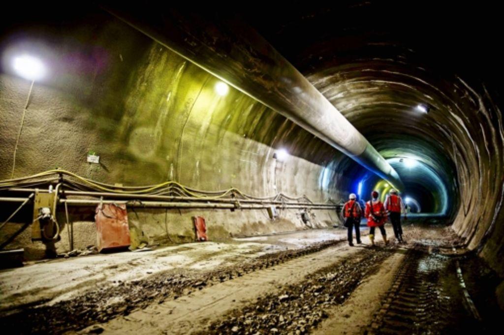 Schon einige hundert Meter ist der Cannstatter Tunnel lang. Foto: Lichtgut/Max Kovalenko