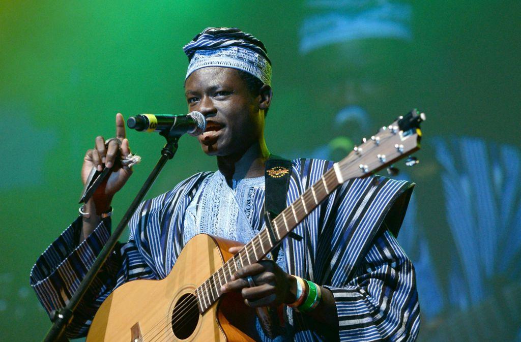Ezé Wendtoin stammt aus Burkina Faso. Foto: dpa
