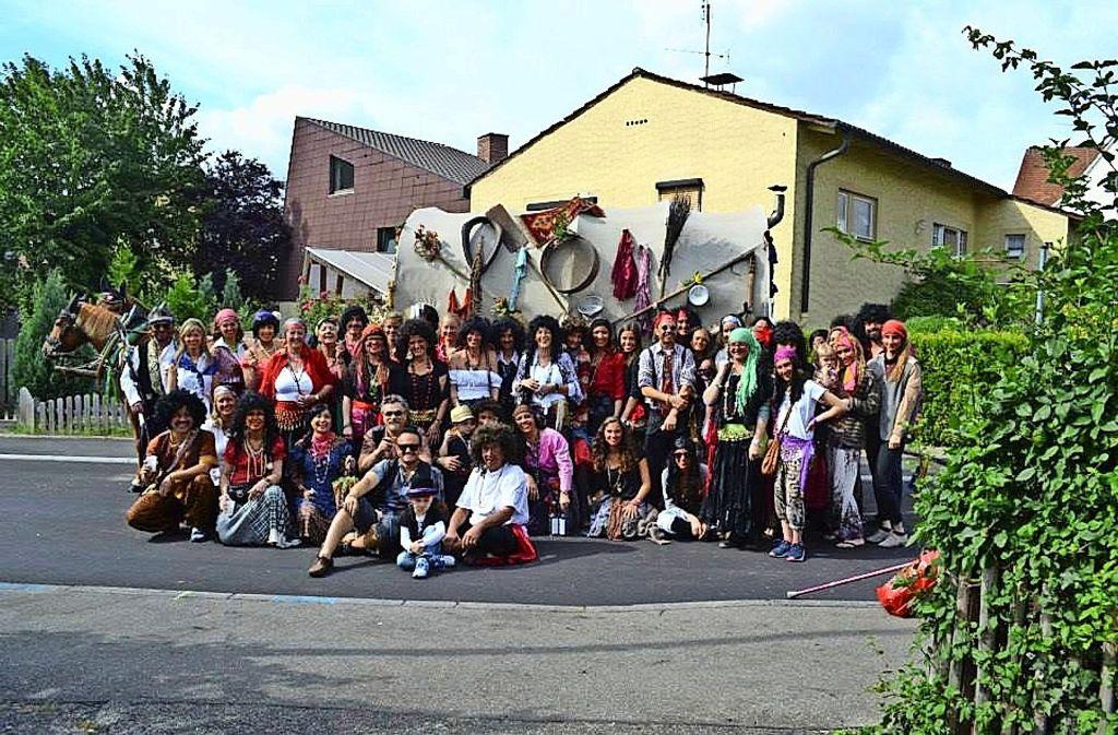 """Der Markgröninger Schäferlauf ist eine Massenveranstaltung. Streit gibt es um den """"Zigeunerwagen"""" und die Gruppe, die beim Umzug marschiert. Foto: factum/Schäferlauffreunde"""