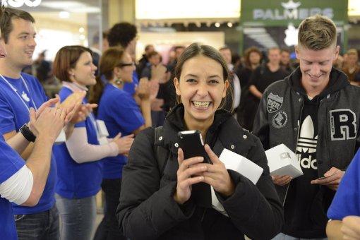 So glücklich können Kunden aussehen. Foto: 7aktuell.de/Eyb