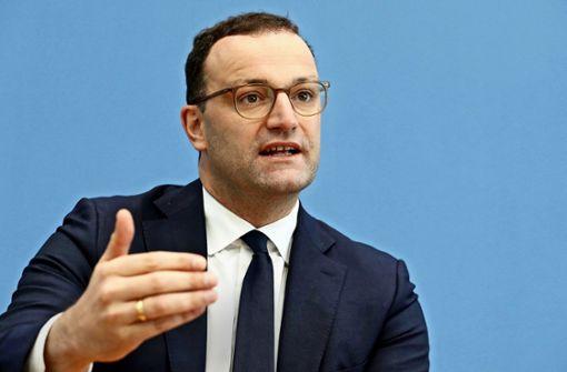 Jens Spahn verteidigt geplante Einschränkungen