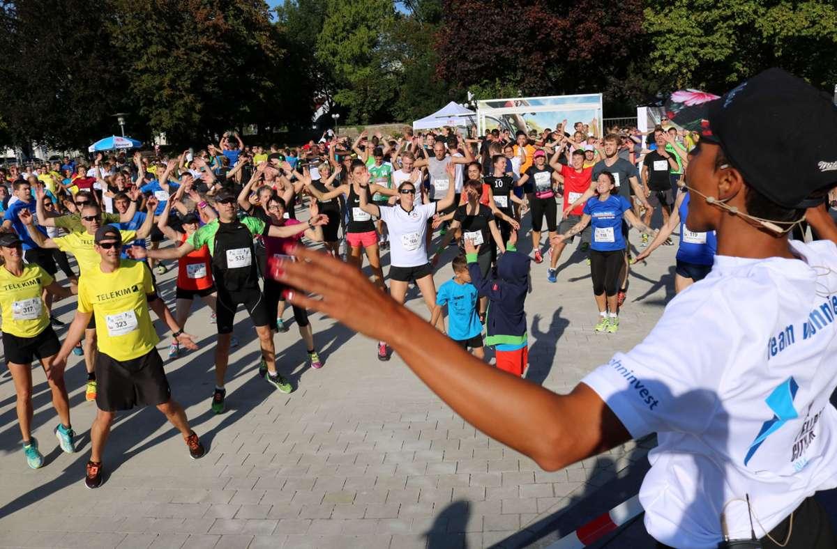 Massenbewegung abgesagt: Der City-Run in Fellbach  fällt 2021 erneut    aus. Foto: Eva Herschmann
