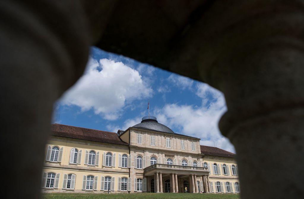 Keine Minijobs für Studenten mehr: auch an der schönen Uni Hohenheim ist wegen Corona der Präsenzbetrieb runtergefahren worden. Foto: dpa/Marijan Murat