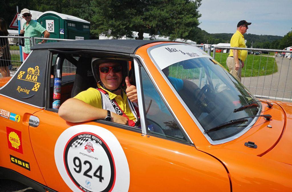 Alle zwei Jahre wird am Glemseck einem Motorsportmythos gehuldigt: der Solitude-Rennstrecke. Foto: Fotoagentur-Stuttg