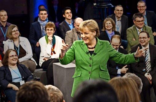 Angela Merkel (CDU) hat Erfahrung im Dialog. Foto: dpa/Bundesregierung-POOL