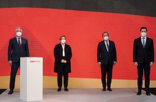 Landes-Union macht ihren Frieden mit Armin Laschet