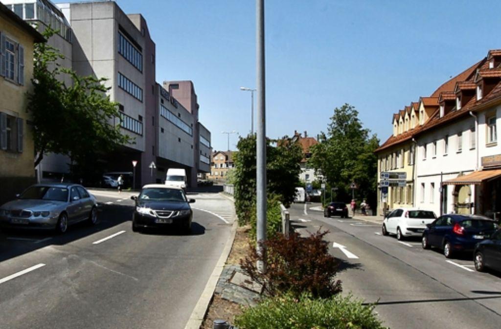 Die Charlottenstraße wird umgebaut Foto: factum/Bach