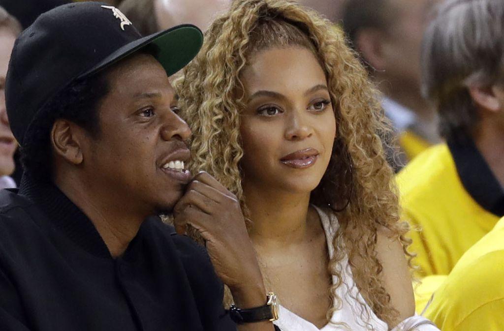 Rapper Jay-Z und seine Frau Beyoncé besitzen zusammen ein Milliardenvermögen. Foto: dpa