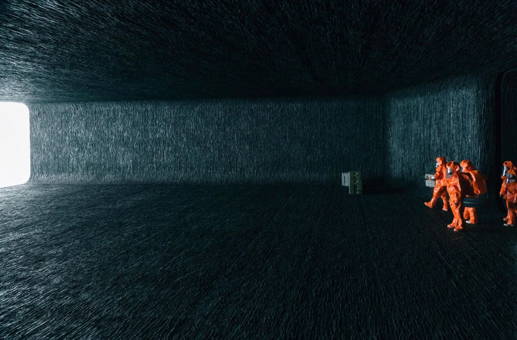 .... müssen die Erstkontakt-Experten einen Weg nicht nur ins Schiff, sondern ins Verständnis der Aliens finden.  Foto: Sony Pictures