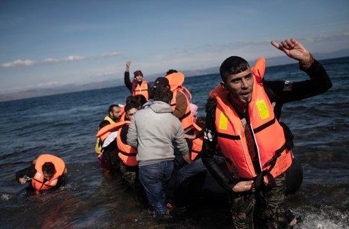 Rund 218.000 Mittelmeer-Flüchtlinge im Oktober