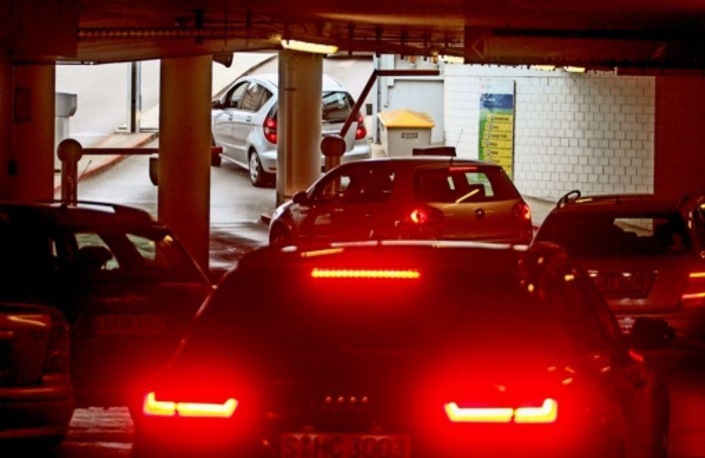 Seit 1. Januar ist das Parken  in der Rathausgarage teurer Foto: factum/Granville