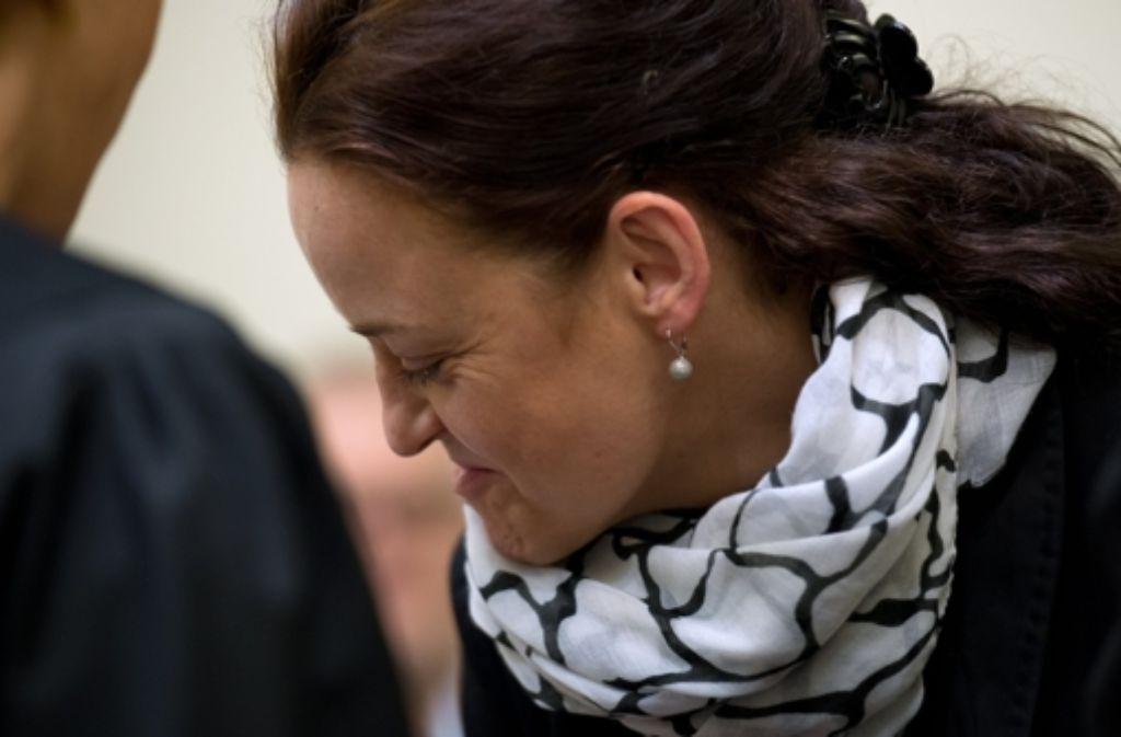 Beate Zschäpe steht beim Prozess in München stets im Fokus der Beobachter Foto: dpa