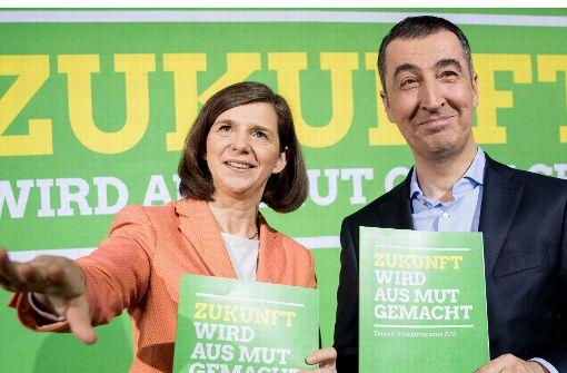 Grüne betonen Gemeinsamkeiten mit Martin Schulz