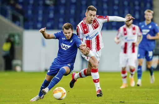 Hoffenheim mit gelungenem Start: 2:0 über Roter Stern Belgrad