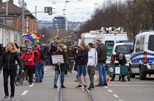 Newsblog: Corona-Proteste bleiben verboten