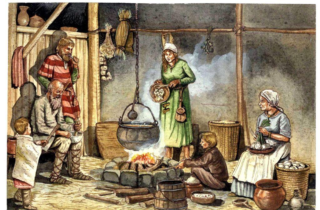 Der Alltag im Mittelalter war alles andere als komfortabel – wie in diesem Gemälde von Giorgio Albertini. Wie wirkte sich das auf die Gefühle der Menschen aus? Foto: imago/Leemage