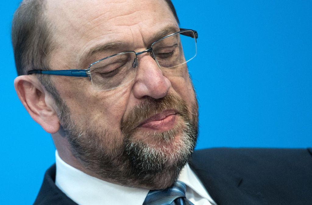 Martin Schulz kritisierte CDU-Vorsitzende Annegret Kramp-Karrenbauer. Foto: dpa
