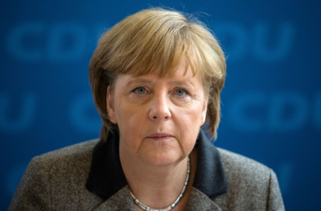 Angela Merkel will an dem umstrittenen Milliardenprojekt festhalten. Foto: dpa