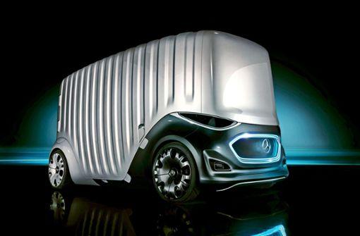 Daimler arbeitet am  Transporter ohne Fahrer
